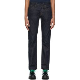 Re/Done Indigo Slim-Fit Jeans