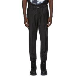 Diesel Black P-Rust Trousers