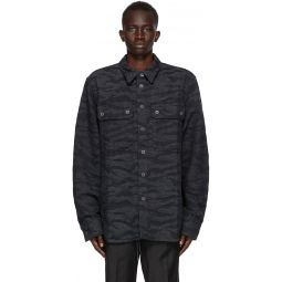 Diesel Black & Grey Denim D-Jessy-SP Shirt
