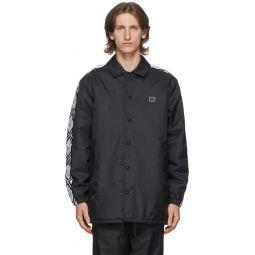 Acne Studios Black Motif Coach Jacket