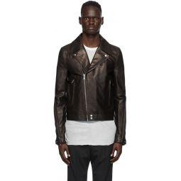 Rick Owens Black Dracubiker Jacket