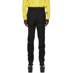 Rick Owens Black Slim Astaires Long Trousers