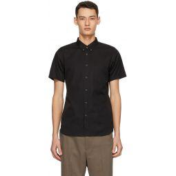 Comme des Garons Shirt Black Pocket Short Sleeve Shirt