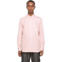 Comme des Garons Shirt Pink Oxford Forever Shirt