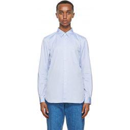 Comme des Garons Shirt Blue Oxford Forever Shirt
