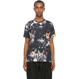 Comme des Garons Shirt Black Futura Edition Print T-Shirt