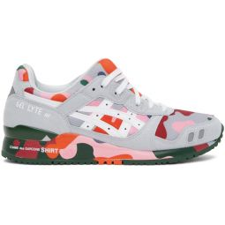 Comme des Garons Shirt Multicolor Asics Edition GEL- Lyte III Sneakers