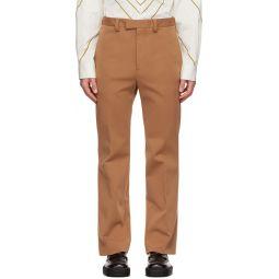 Marni Tan Jersey Trousers