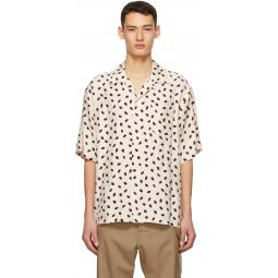 Marni Beige Bubble Short Sleeve Shirt