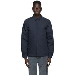 Kenzo Navy Tiger Crest Shirt Jacket