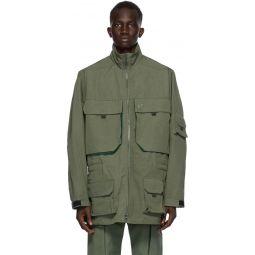 Kenzo Green Oversize Parka Jacket