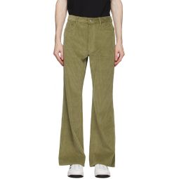 Kenzo Khaki Corduroy Trousers
