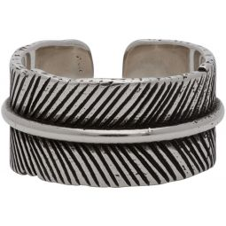 Isabel Marant Silver Feather Ring