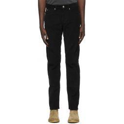 Isabel Marant Black Corduroy Trousers
