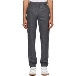 Isabel Marant Grey Slimy Trousers