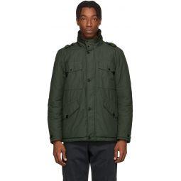 Stone Island Green Naslan Multi-Pocket Coat