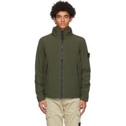 Stone Island Green Soft Shell-R Jacket