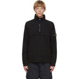 Stone Island Black Pullover Jacket