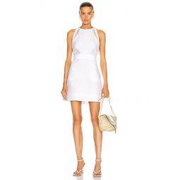 Linen Apron Mini Dress