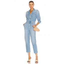 The Half Spring Take-Off Ankle Jumpsuit