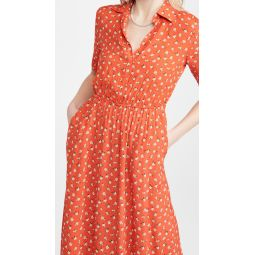 Florally Introduced Dress