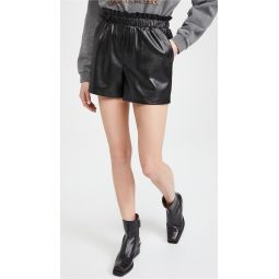 Out Of The Bag Faux Leather Shorts