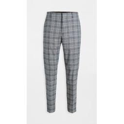 Plaid Sutton Trousers