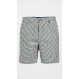 Baxter Micro Check Shorts