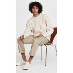 Stay Loose Cableknit Sweater