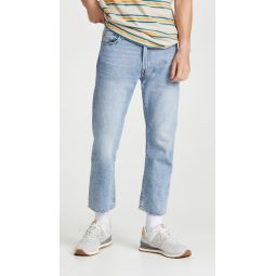 551Z Authentic Straight Cropped Jeans
