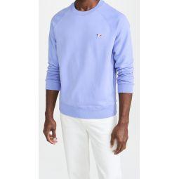 Tricolor Fox Patch Clean Sweatshirt