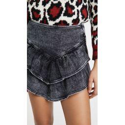 The Ruffle Miniskirt