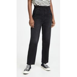 The Yoyo Ruffle Greaser Ankle Jeans