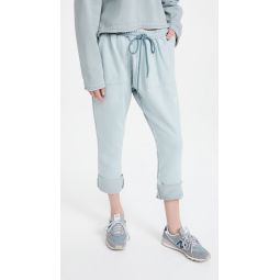 Ash Blue Jersey Pants