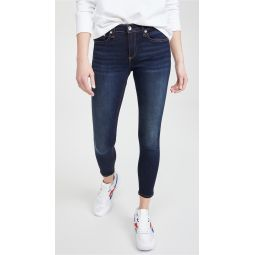 Cate Mid Rise Ankle Skinny Jeans