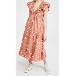 Polka Dot Ondine Dress