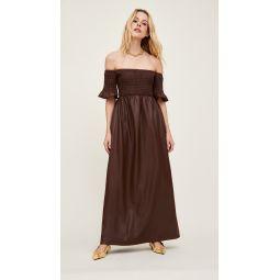 Faux Leather Mae Dress