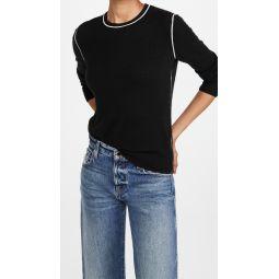 Crew Neck Pullover Cashmere Sweater