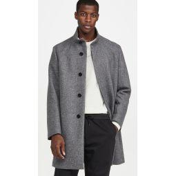 Belvin Twist Wool Overcoat