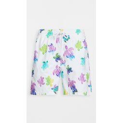 Multicolor Turtles Moorea Shorts