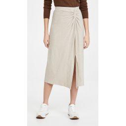 Twist Draped Skirt