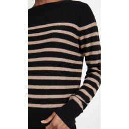 Breton Striped Boat Neck Sweater