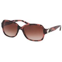 Coach HC8241 Rectangle Sunglasses for Women + FREE Complimentary Eyewear Kit