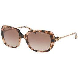 Michael Kors MK2065 Rectangle Sunglasses for Women + FREE Complimentary Eyewear Kit