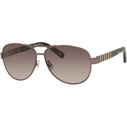 Kate Spade Dalia/S Navigator Sunglasses for Women+FREE Complimentary Eyewear Kit