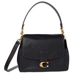 COACH Soft Pebble Leather May Shoulder Bag