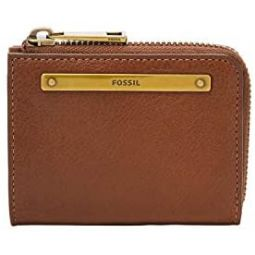 Fossil Womens Liza Leather Mini Wallet with Keychain