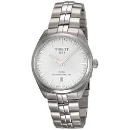 Tissot PR 100 Silver Dial Stainless Steel Automatic Mens Watch T1014071103100