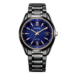 Citizen Exceed Titanium Technology 50th Anniversary Cosmic Blue Eco-Drive Radio Limited Model Watch AS7164-99L