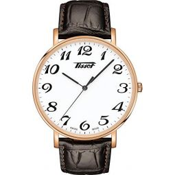 Tissot Mens Quartz Stainless Steel Strap, Brown, 20 Casual Watch (Model: T1096103601201)